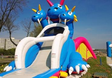Mali Giganci Wipeout Planet - dmuchańce dla dzieci - zjeżdżalnie dmuchane (61)