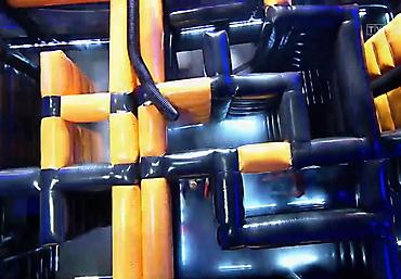 gigantyczny dmuchany tor przeszkód Rubikon arena (24)