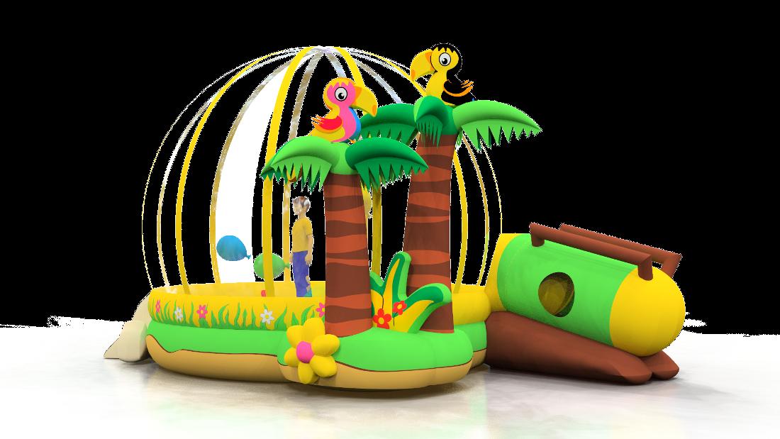 Tropical Island A4